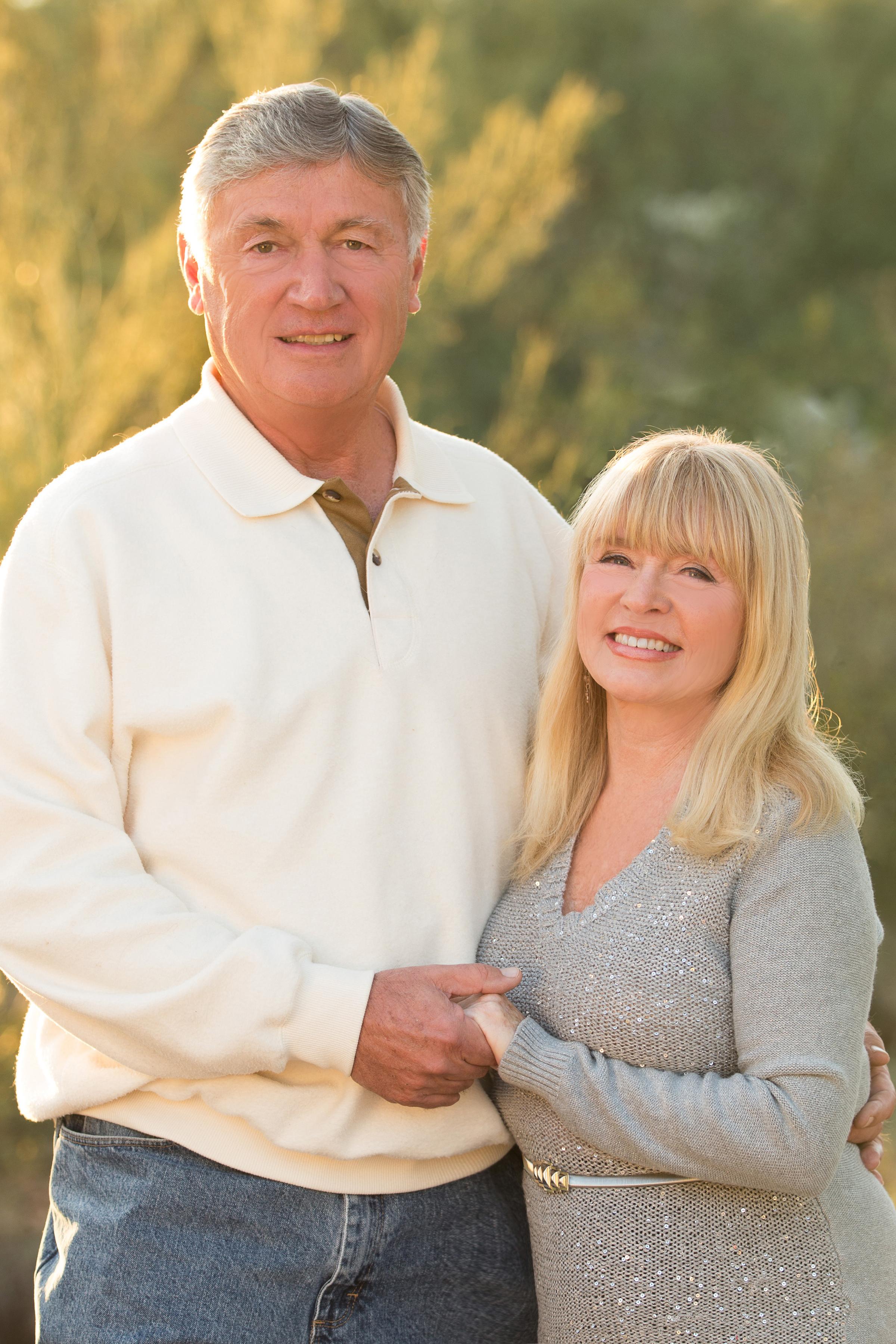 Carolyn Bushong and Alan