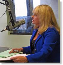 Carolyn Bushong counseling Howie & Wendy on The Alice Morning Show 105.9 FM